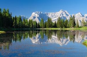 Alps Antorno Lake