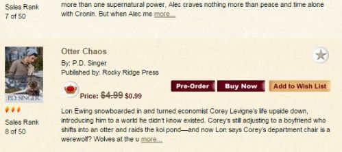ARe best seller list 8